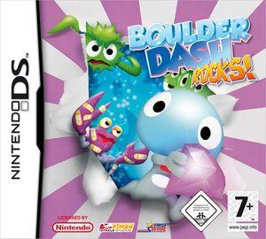 Nintendo DS - Boulder Dash Rocks! - Game-Klassiker Puzzle