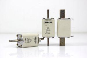 3 Stück Siemens NH-Sicherung Sicherungseinsatz NH1 GL/GG 224A 500VAC - 3NA3 142