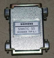 SIEMENS - Simatic S5 Dongle Stecker - Decoder Typ 5.1 001