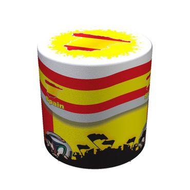 Sitzhocker WM Spanien Spain Maße: Ø 34 cm x 44 cm