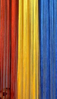 Fadenvorhang Rumänien 90 cm x 240 cm – Bild 3