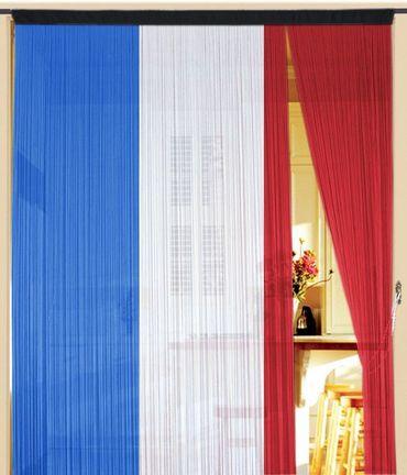 Fadenvorhang Frankreich 300 cm x 300 cm – Bild 1