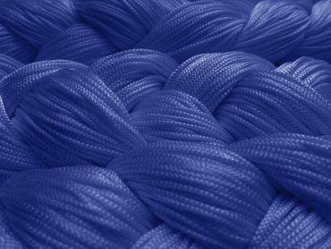 Fadenvorhang 150 cm x 500 cm (BxH) blau – Bild 2