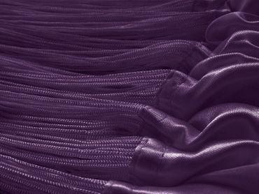 Fadenvorhang 150 cm x 300 cm (BxH) lila – Bild 3