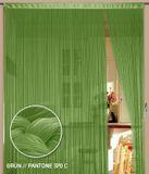 Fadenvorhang 150 cm x 300 cm (BxH) grün 001
