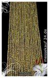 Fadenvorhang 150 cm x 300 cm gold glänzend (BxH) 003