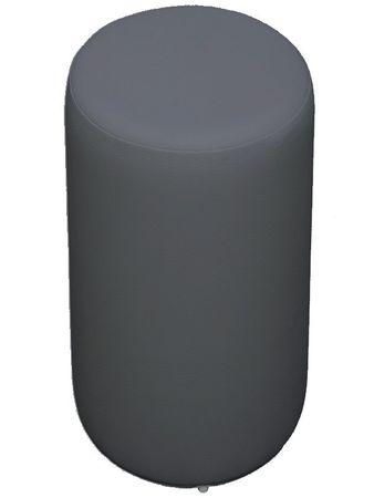 Sitzhocker hellgrau Ø34cm x 60 cm