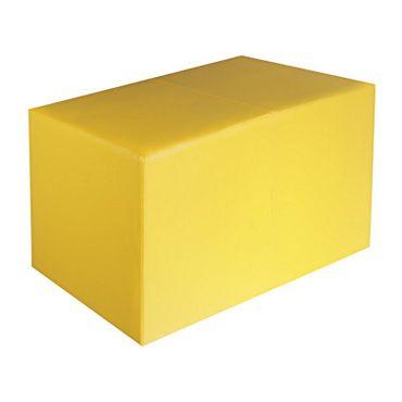 Sitzbank gelb Maße: 85 cm x 43 cm x 48 cm