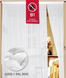 Fadenvorhang 100 cm x 250 cm weiß in B1 schwer entflammbar 001