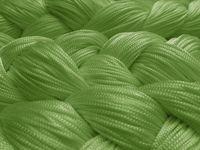 Fadenvorhang 90 cm x 240 cm grün in B1 schwer entflammbar 002
