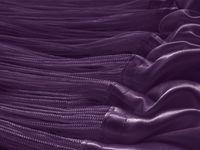 Fadenvorhang 90 cm x 240 cm lila in B1 schwer entflammbar 003