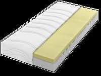 Dunlopillo Matratze Home 3400  Produktionformationen  Gesamthöhe: ca. 18 cm 16 cm hoher Kern punktelastischer Coltex® HRX-Kern  langlebiger und punktelastischer Kern mit 7 ergonomischen Zonen 10 Jahre Garantie gegen das Durchliegen des Kerns zwei verschiedene Härtegrade: H2 bis 75 kg H3 ab 75 kg hochelastischer, komplett abnehmbarer und waschbarer Bezug mit Wendeschlaufen Oberstoff bestehend aus: 100% Polyester Unterstoff bestehend aus: 100% Polypropylen Füllung: 100% Polyester Kernhülle: 100% Polyester