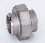 Edelstahl Verschraubung flach dichtend Schweißenden 1.4408 AISI 316 V4A Nr. 314 001