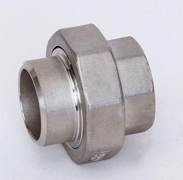 Edelstahl Verschraubung konisch dichtend Schweißende x IG 1.4408 AISI 316 V4A Nr. 320