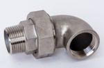 Edelstahl V4A Winkelverschraubung konisch dichtend IG x AG Nr. 98 / 315W 001