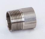 Edelstahl Anschweißnippel 1.4404 AISI 316 V4A Nr. 23a, 308 001