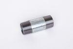 Stahl verzinkt Rohrdoppelnippel ST37.2, 1.0038, S235JRG2, Nr. 23 001