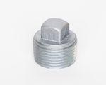 Stahl 4-kant Stopfen verzinkt DIN EN 10241, DIN 2991, Nr. 20 001