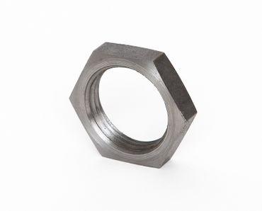 Stahl Mutter schwarz DIN EN 10241, DIN 431, Nr. 21