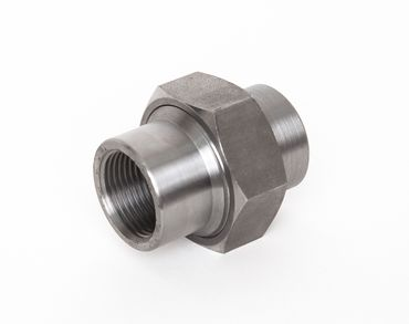 Stahl Verschraubung konisch dichtend IG x IG schwarz DIN EN 10241, DIN 2993, Nr. 10a