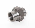 Stahl Verschraubung flach dichtend IG x IG schwarz DIN EN 10241, DIN 2993, Nr. 10 001