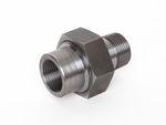 Stahl Verschraubung konisch dichtend IG x AG schwarz DIN EN 10241, DIN 2993, Nr. 11a 001