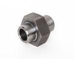 Stahl Vorschweißverschraubung konisch dichtend bds. Schweißende schwarz DIN EN 10241, DIN 2993, Nr. 100a 001