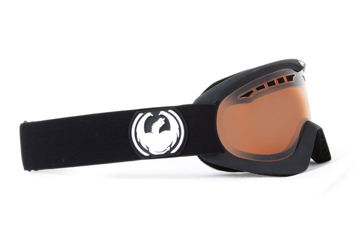 Dragon DX Coal Amber - Skibrille - Skigoogle