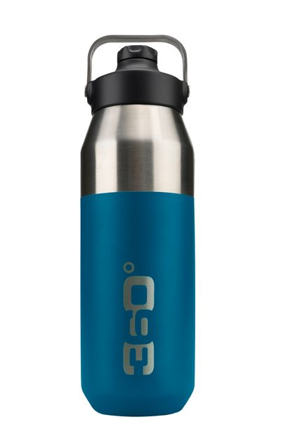 360 Degrees Wide Mouth Insulated w/Sipper Cap 750ml Trinkflasche Vacuum Trinkflasche