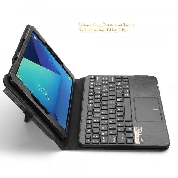 mq galaxy tab s3 9 7 bluetooth tastatur tasche mit multifunktions touchpad h lle mit. Black Bedroom Furniture Sets. Home Design Ideas