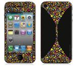 "BODINO Designer Super Skin für iPhone 4 / 4S by David Siml ""BUBBLE PARADISE"""