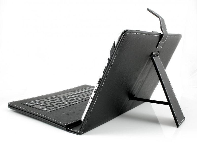 tablet pc tasche usb tastatur f r 10 android windows qwertz ebay. Black Bedroom Furniture Sets. Home Design Ideas