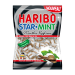 Haribo STAR * MINT Menthe Reglisse Lakritze Dragees 180 Gramm