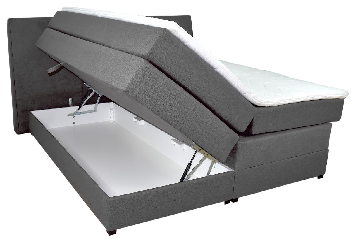 Stauraumbox: Bettkasten seitlich