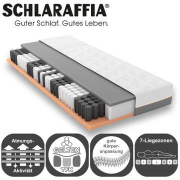 Schlaraffia GELTEX Quantum Touch 200 TFK Matratze 90x220 cm H3 Gelschaum – Bild 3