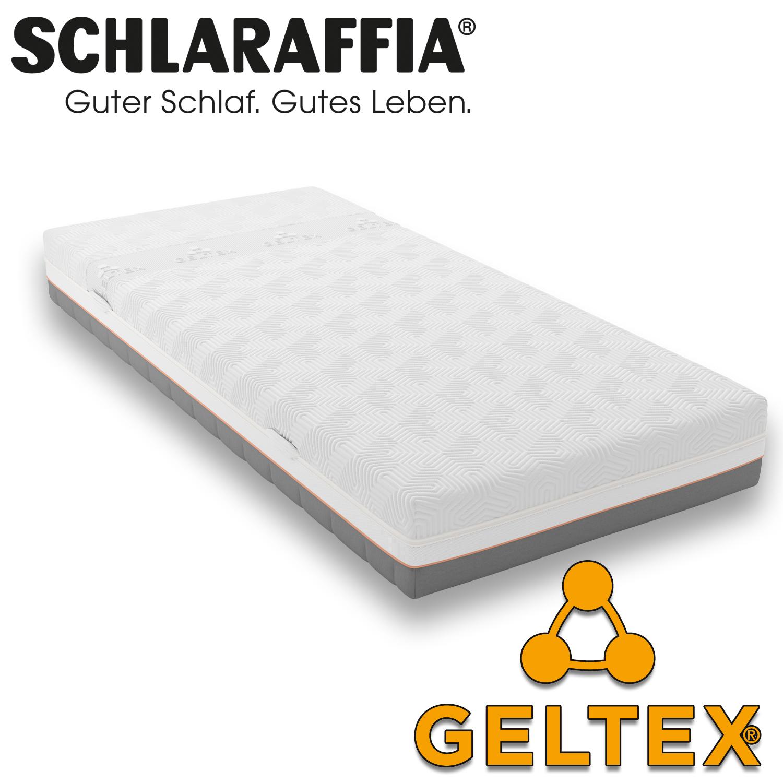 schlaraffia geltex quantum touch 220 matratze 140x190 cm h2 gelschaum matratzen sondergr en 140. Black Bedroom Furniture Sets. Home Design Ideas