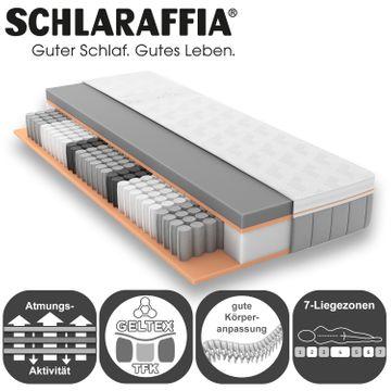 Schlaraffia GELTEX Quantum Touch 260 TFK Matratze 90x200 cm H2 Gelschaum – Bild 4