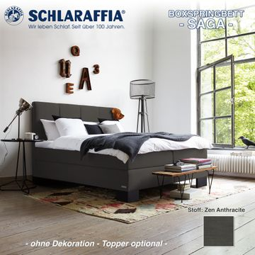 saga boxspringbett schlaraffia preis konfigurator onletto. Black Bedroom Furniture Sets. Home Design Ideas
