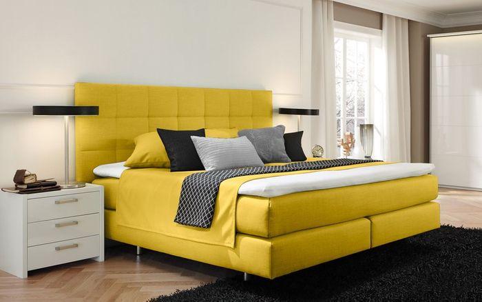 femira boxspringbett toronto q alcantara hersteller. Black Bedroom Furniture Sets. Home Design Ideas