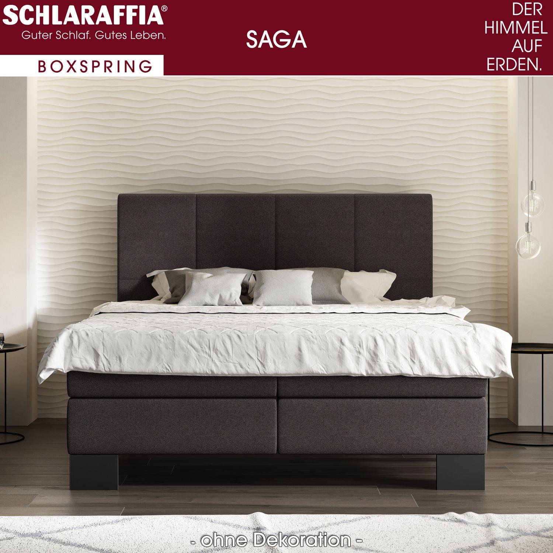 schlaraffia saga box cubic boxspringbett 120x200 cm. Black Bedroom Furniture Sets. Home Design Ideas