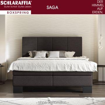 Schlaraffia Saga Box Cubic Boxspringbett 140x200 cm – Bild 1