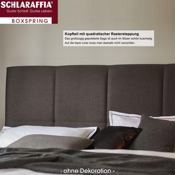 Schlaraffia Saga Box Cubic Boxspringbett 100x220 cm – Bild 3