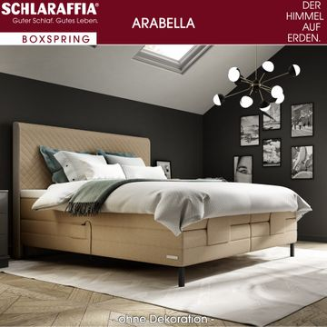 Schlaraffia Arabella Box Cubic Boxspringbett 160x210 cm – Bild 2