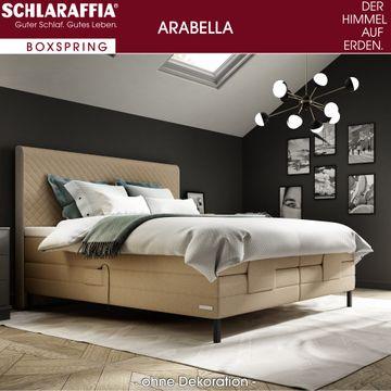 Schlaraffia Arabella Boxspringbett 180x200 cm beige inkl. GELTEX® Topper  – Bild 2