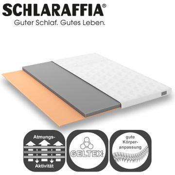 Schlaraffia Arabella Boxspringbett 180x200 cm beige inkl. GELTEX® Topper  – Bild 6