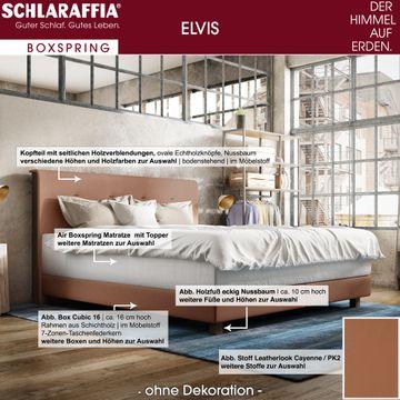 Schlaraffia Elvis Eiche Box Cubic Boxspringbett 140x220 cm – Bild 3