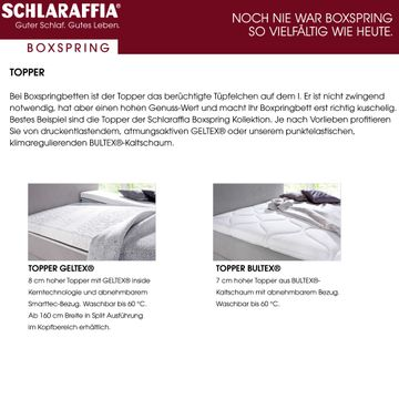 Schlaraffia Buddy Holly Eiche Box Cubic Boxspringbett 120x210 cm – Bild 9