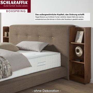 Schlaraffia Buddy Holly Eiche Box Cubic Boxspringbett 120x210 cm – Bild 4
