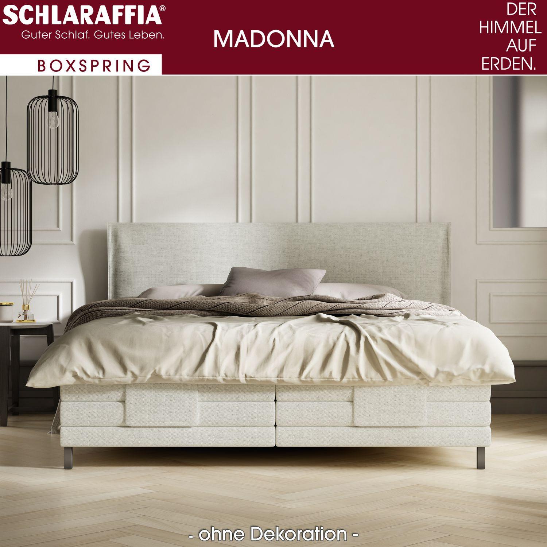 schlaraffia madonna boxspringbett 180x200 cm motorbox inkl geltex topper boxspringbetten 180 x. Black Bedroom Furniture Sets. Home Design Ideas