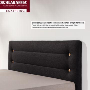 Schlaraffia Fidelio Boxspringbett 180x200 cm inkl. GELTEX® Quantum Matratzen H2 & H3 – Bild 3
